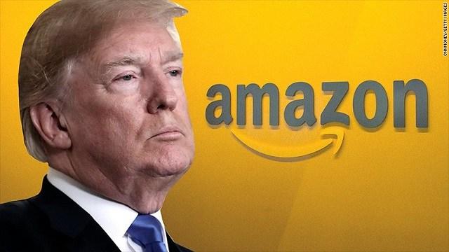 Pentagon close to awarding $10 billion deal to Amazon despite Trump's attacks