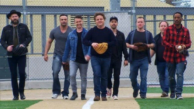 The gang takes the field together 25 years later