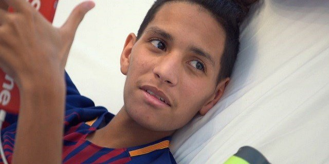 15-year old Anthony Borges, a survivor of the Parkland massacre.