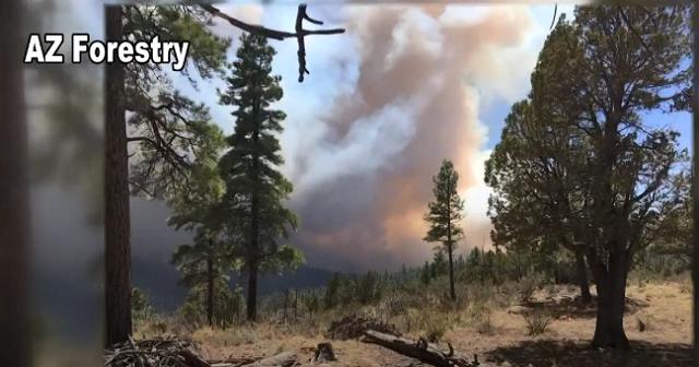 WILDFIRE: Ariz. 'Tinder Fire' Zero Percent Contained, Evacuations Underway