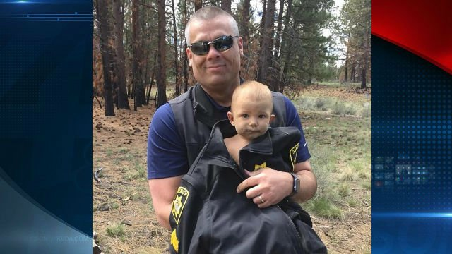 Missing baby abandoned by father found naked in forest, deputies say