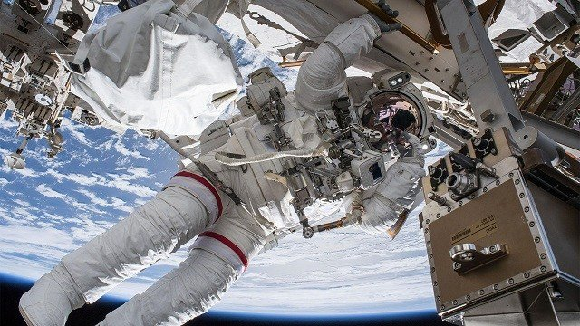 Watch live as MI  astronaut spacewalks outside International Space Station
