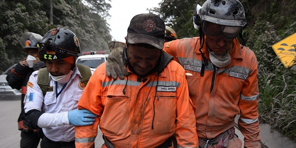 25 killed in Guatemala volcano eruption
