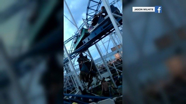 People Fall 34 Feet From Derailed Florida Roller Coaster