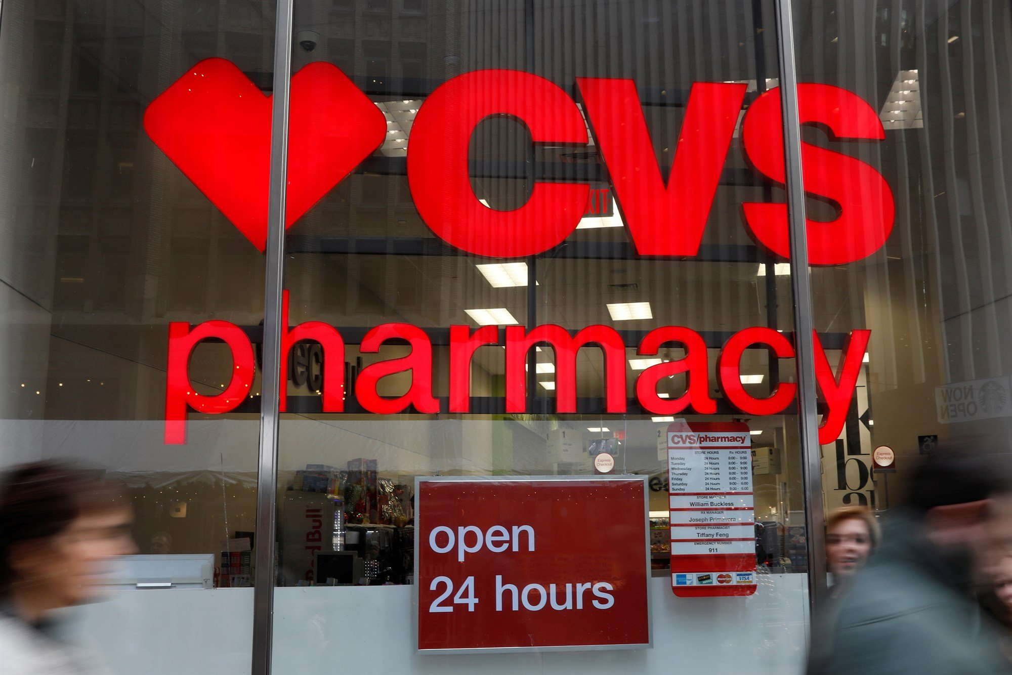 CVS apologizes after a pharmacist refused to fill a transgender woman's prescription