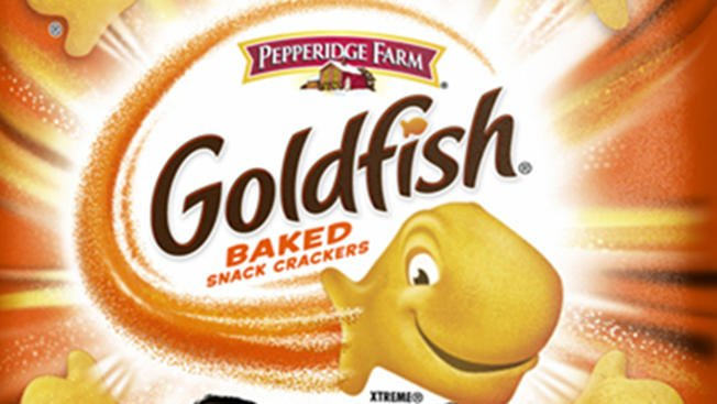 4 types of Goldfish Crackers recalled because of potential salmonella risk