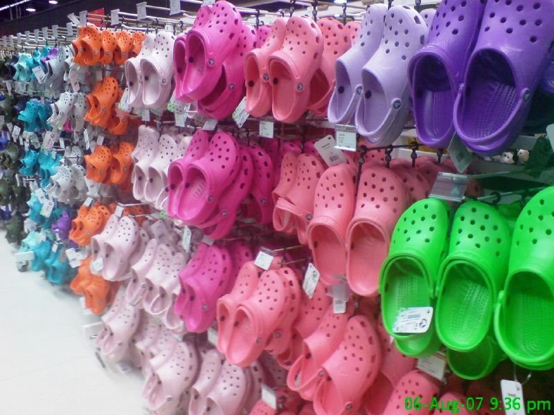 Crocs shoe manufacturer announces its closing its manufacturing facilities