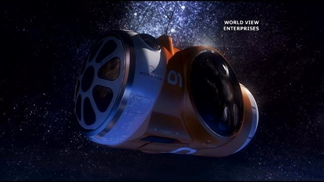 Worldview space capsule