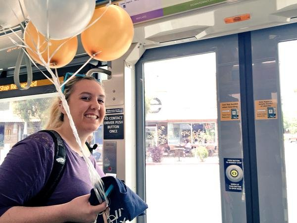 The streetcar, which started transporting people on July 25, reached its millionth boarding passenger Thursday afternoon, 44 days ahead of the projected ridership numbers.