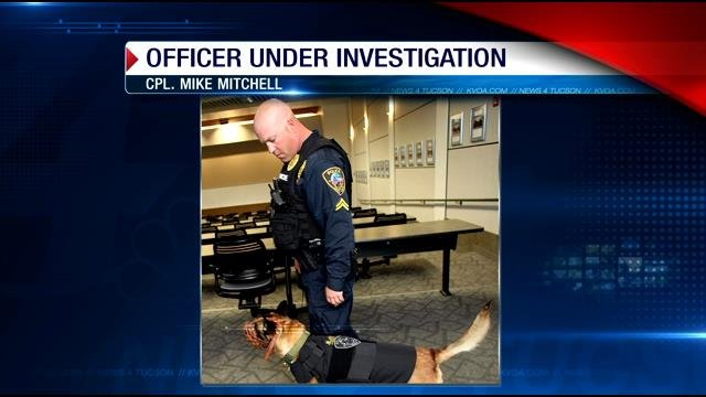 Corporal Mike Mitchell is on paid administration leaveas the FBI helps investigate unspecified allegations.