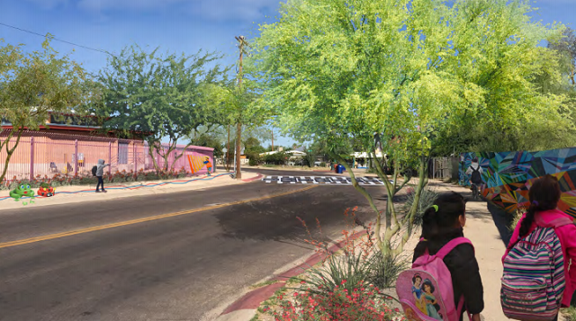 Street Safety Improvements Coming To South Side School