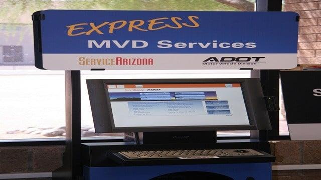 Self serve kiosks at the motor vehicle department are very for Motor vehicle department tucson