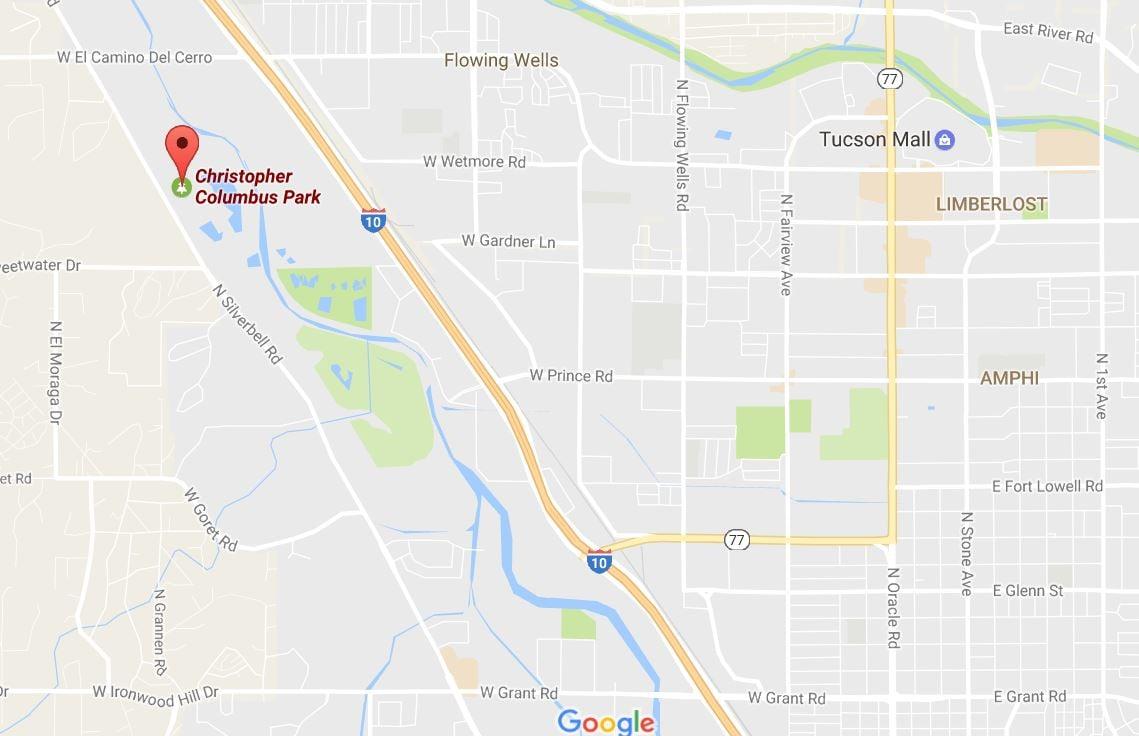 Google Maps Tucson Down Acres Hr From Tucson Parabolic - Google maps arizona