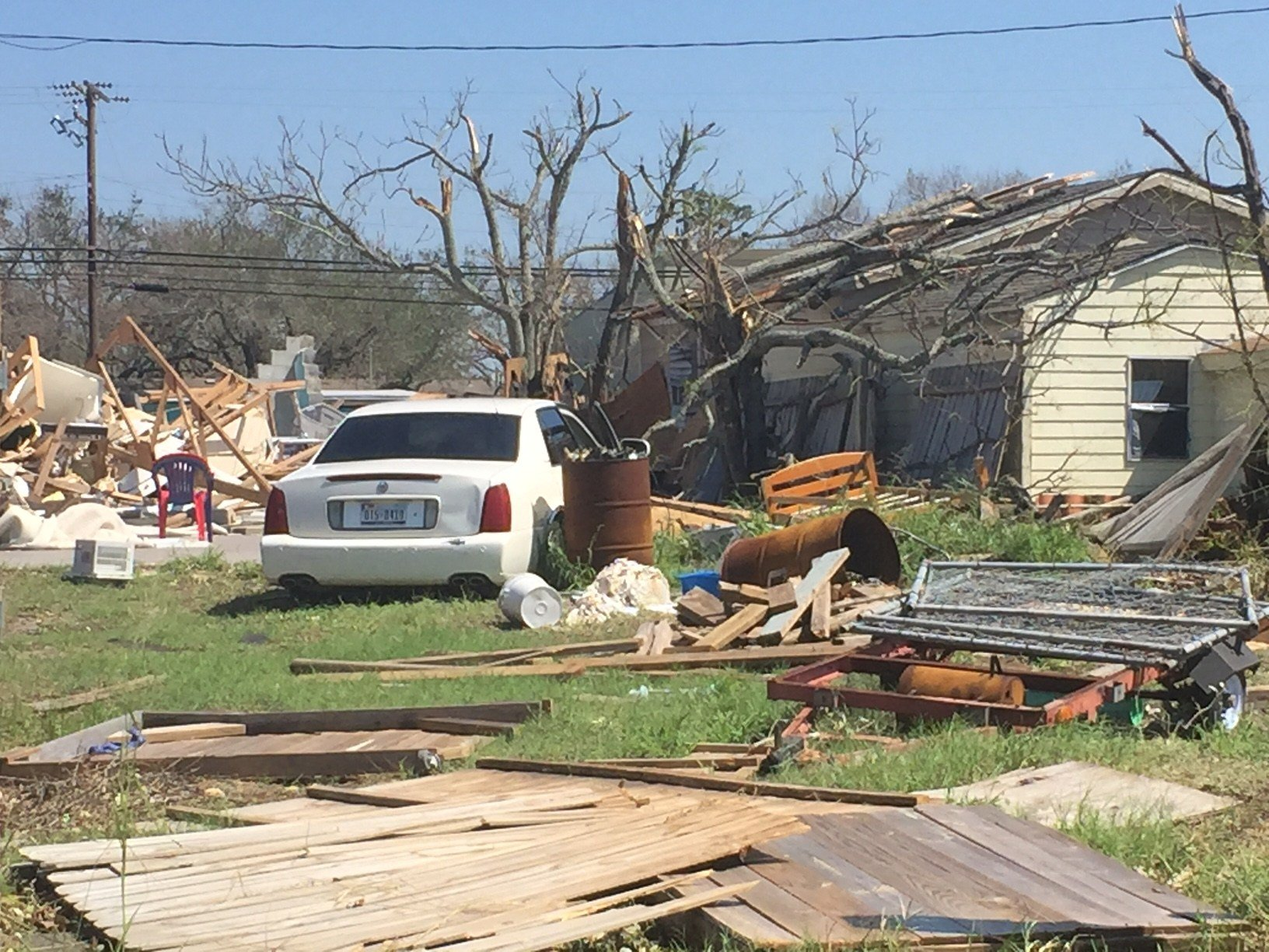 Small town of Rockport devastated by Hurricane Harvey KVOA