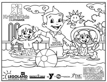 LIFESAVER Shortage of 2 4 year old coloring contest entries