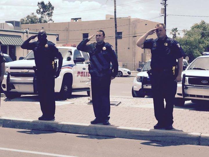 Body Of Tpd Officer Killed In Glendale Crash Returned To