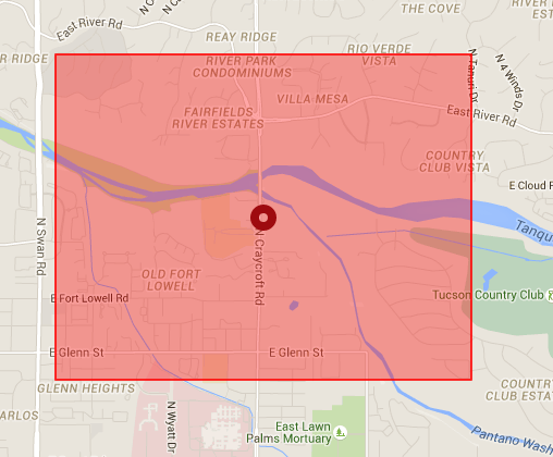 Power outage strikes nearly 2000 near near Catalina Foothills